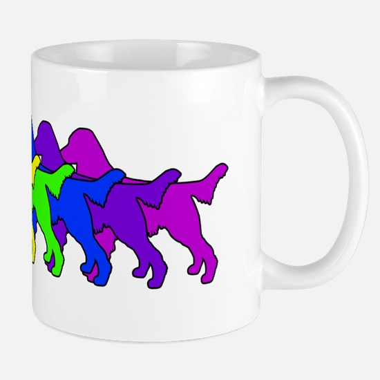 Rainbow Flatcoat Mug