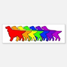 Rainbow Gordon Bumper Bumper Bumper Sticker