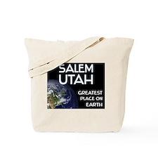salem utah - greatest place on earth Tote Bag