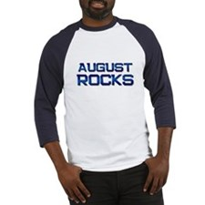 august rocks Baseball Jersey
