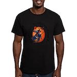 Irish Witch (Gaelic) Men's Fitted T-Shirt (dark)