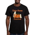 Gaelic Halloween Boo! Men's Fitted T-Shirt (dark)