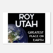 roy utah - greatest place on earth Postcards (Pack