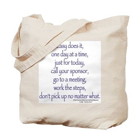Easy does it! Tote Bag
