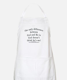 """God and Me!"" BBQ Apron"