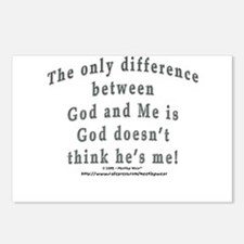 """God and Me!"" Postcards (Package of 8)"