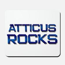 atticus rocks Mousepad