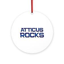 atticus rocks Ornament (Round)