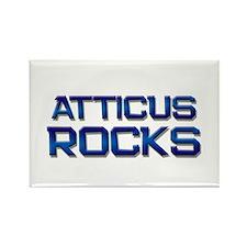 atticus rocks Rectangle Magnet