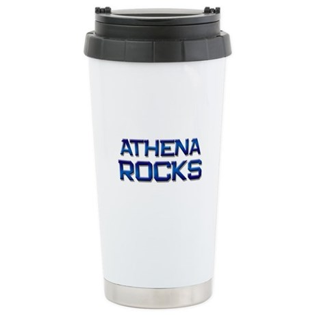 athena rocks Stainless Steel Travel Mug