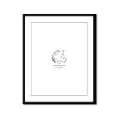 WILPF Framed Panel Print