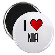 I LOVE NIA Magnet