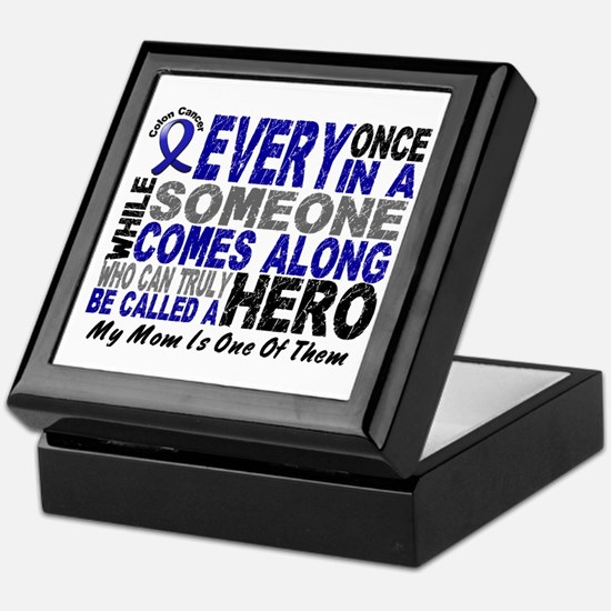 HERO Comes Along 1 Mom CC Keepsake Box