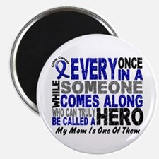 """HERO Comes Along 1 Mom CC 2.25"""" Magnet (10 pack)"""