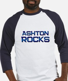 ashton rocks Baseball Jersey