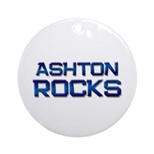 ashton rocks Ornament (Round)