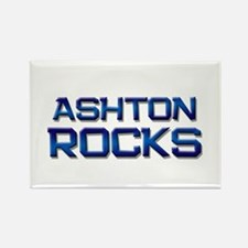 ashton rocks Rectangle Magnet