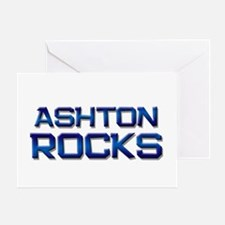 ashton rocks Greeting Card
