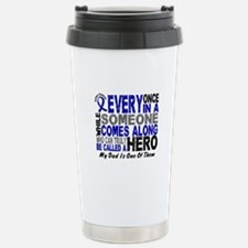HERO Comes Along 1 Dad CC Travel Mug