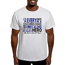 HERO Comes Along 1 Dad CC T-Shirt