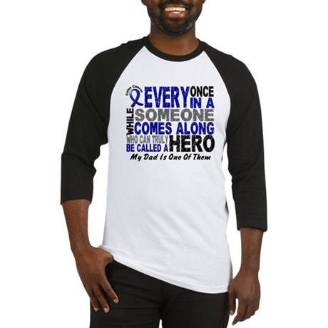 HERO Comes Along 1 Dad CC Baseball Jersey