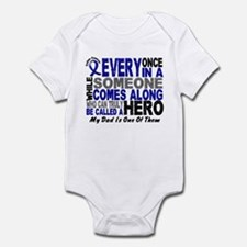 HERO Comes Along 1 Dad CC Infant Bodysuit