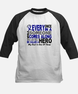 HERO Comes Along 1 Dad CC Kids Baseball Jersey
