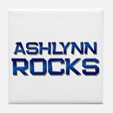 ashlynn rocks Tile Coaster