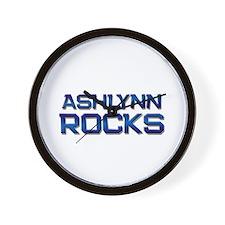 ashlynn rocks Wall Clock