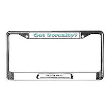 """""""Got Serenity?"""" License Plate Frame"""