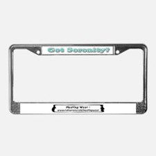"""Got Serenity?"" License Plate Frame"