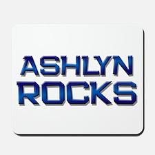 ashlyn rocks Mousepad