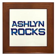 ashlyn rocks Framed Tile