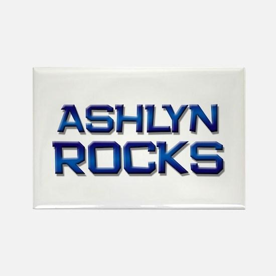 ashlyn rocks Rectangle Magnet