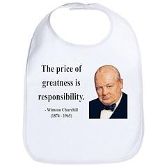 Winston Churchill 18 Bib