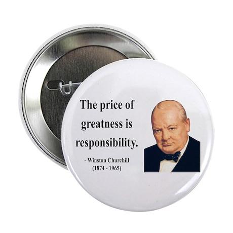 "Winston Churchill 18 2.25"" Button"