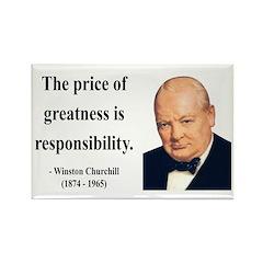 Winston Churchill 18 Rectangle Magnet (100 pack)