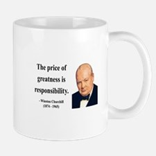 Winston Churchill 18 Small Small Mug