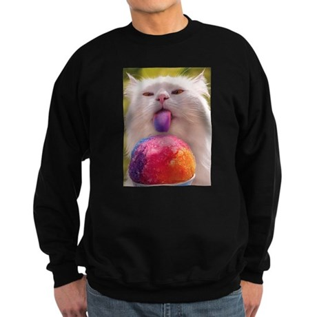 Colorful Kitty Sweatshirt (dark)