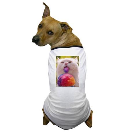 Colorful Kitty Dog T-Shirt