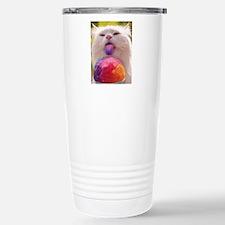 Colorful Kitty Travel Mug