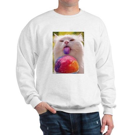 Colorful Kitty Sweatshirt