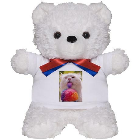 Colorful Kitty Teddy Bear