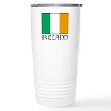 """""""Ireland Flag"""" Travel Mug"""