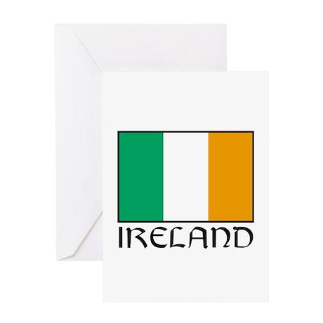 """Ireland Flag"" Greeting Card"
