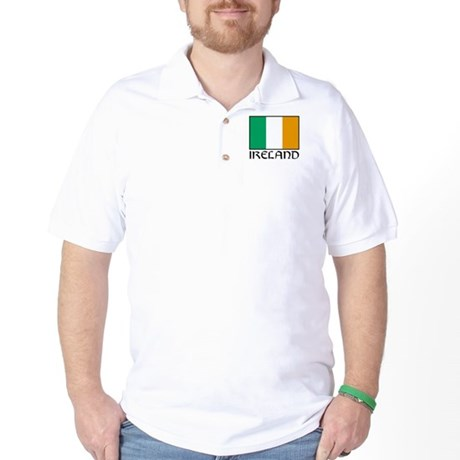 """Ireland Flag"" Golf Shirt"