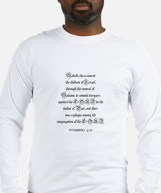 NUMBERS  31:16 Long Sleeve T-Shirt