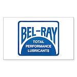 Retro Bel-Ray Sticker 2