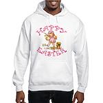 Cute Kewpie Style Art Easter Hooded Sweatshirt