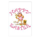 Cute Kewpie Style Art Easter Postcards (Package of